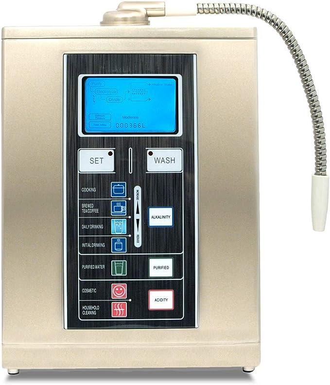 Aqua Ionizer Deluxe 7.5 Water Ionizer Home Alkaline Water Filtration System