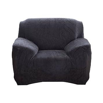 WINOMO Funda para sofá sillón sofá elástica para 1 Elemento ...