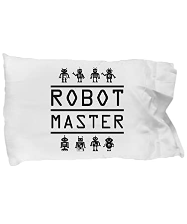 Amazon Com Pillow Covers Design Robot Master Robotics Engineering