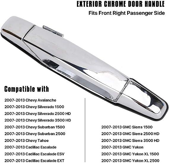 New Door Handle Front Passenger Right Side Chevy Yukon Chrome RH Hand 22738722