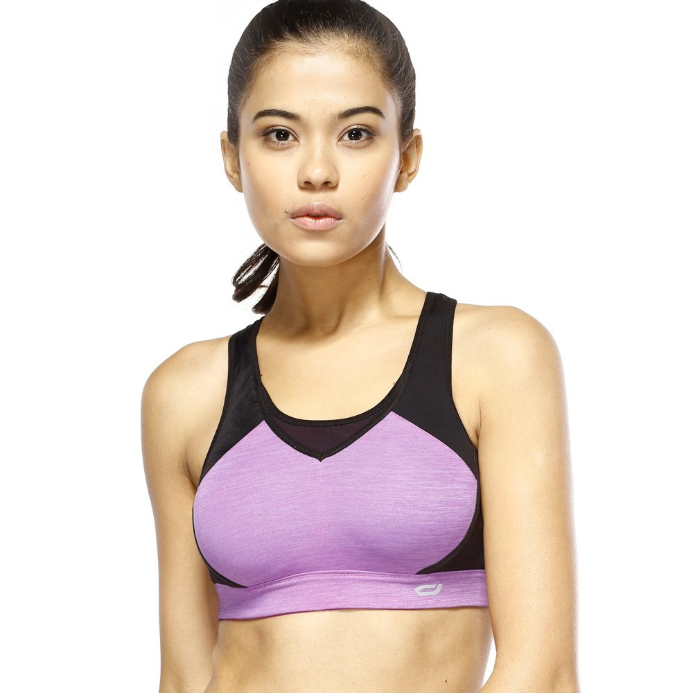 Yvette Damen Yoga High Impact Racerback Sport BH Top #5079
