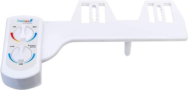 Brondell FSW-20 FreshSpa Dual Temperature Bidet, White