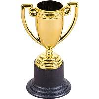 Rhode Island Novelty 10,2cm Trofeo de Oro Tono de plástico (12Piezas)