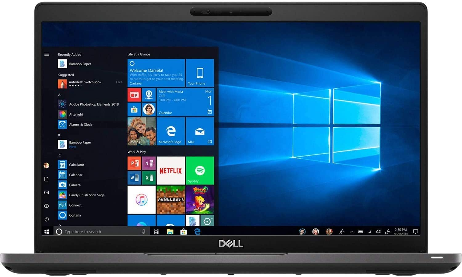 "Dell Latitude 5400 14"" Laptop - Intel Core i7-8665U - 512GB SSD – 16GB DDR4 SDRAM - 1.90 GHz (Max Turbo Frequency 4.80 GHz) - Intel UHD Graphics 620 - Windows 10 Pro-64 – New"