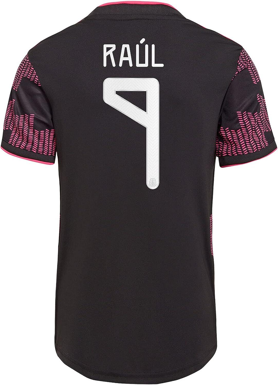 RAÚL #9 Mexico Home Authentic Soccer Jersey 2021