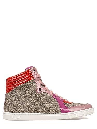 Gucci Mujer 404937Klqw09861 Multicolor Tela Zapatillas Altas: Amazon.es: Zapatos y complementos