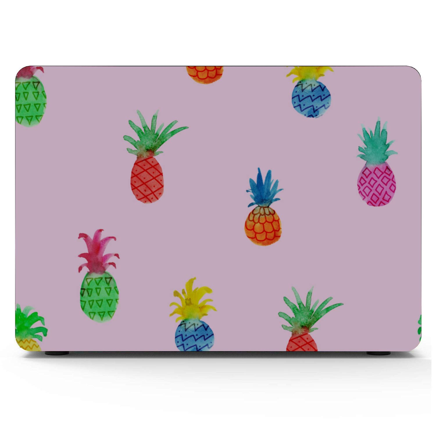 MacBook Cover 15 Inch Summer Fashion Sweet Fruit Pineapple Plastic Hard Shell Compatible Mac Air 11 Pro 13 15 MacBook 15 Cover Protection for MacBook 2016-2019 Version