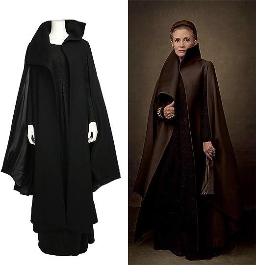 Rubyonly Star Wars 8 Traje de Cosplay la Princesa Leia Mujeres ...
