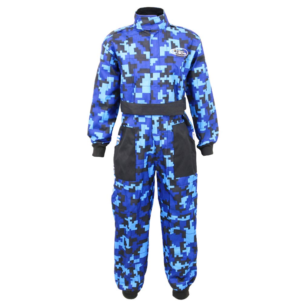 Kids CAMO Motocross 1PC Suit /& Goggles XL 55cm XL 8cm Leopard LEO-X15 Blue Kids Motocross Motorbike Helmet /& Gloves M 7-8Yrs