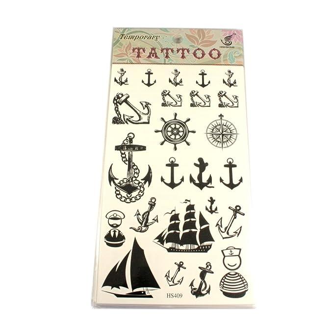 maritime Tatuajes ancla, Impuestos, barcos, brújula, Marinero y ...