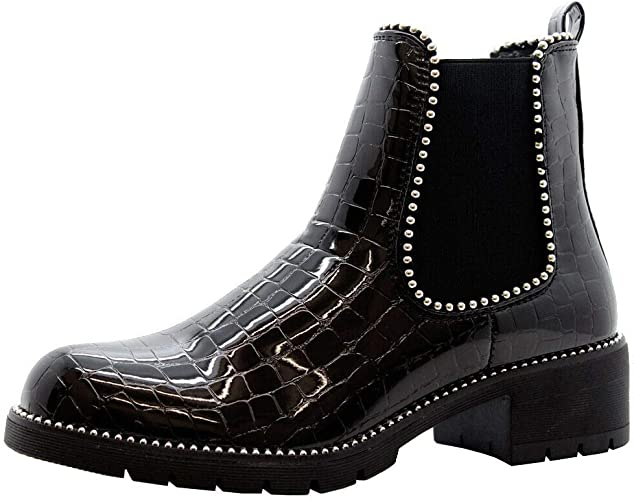 Womens Ankle Boots   Block Heel Boots