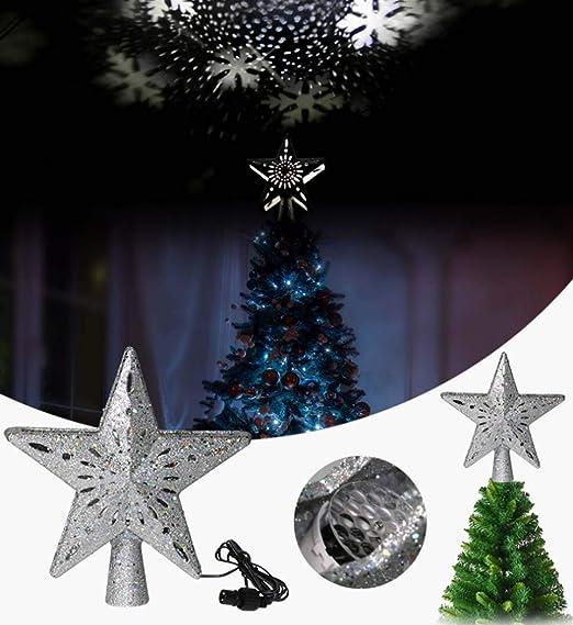Luces LED para proyectores de Navidad,Luces de proyector de copo ...