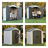 Lifetime 60057 Outdoor Storage Shed, 7 Feet by