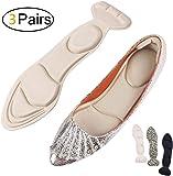 Heel Cushion Inserts - Heel Grips & Shoe Pads for Women-Heel Pads Non-Slip Sponge Insole 2 in 1(22-25CM/US 4.5-7.5)