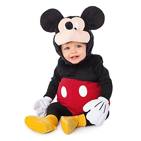 Amazon.com Disney Store Deluxe Mickey Mouse Plush Costume for Baby Size 18 - 24 Months 2T Clothing  sc 1 st  Amazon.com & Amazon.com: Disney Store Deluxe Mickey Mouse Plush Costume for Baby ...