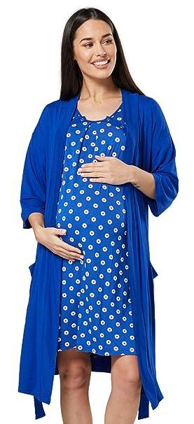Donna Camicia Da Notte Manica Corta Stella Marina Rosa Blu Taglie 8 10 12 14 16 18 20