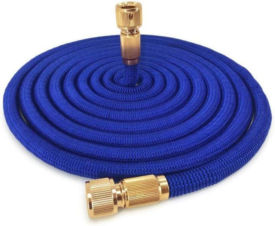 1/2'' 16-150FT Garden Water Hose 1/2 Expandable Magic Watering Hose Fexible High Pressure Car Washing Hose Pipe Garden Irrigation Tool-1/2''_75ft_(22. Blue