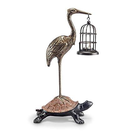 a6396a51c0845 Amazon.com: Viridian Bay Cooperation Garden Lantern & Sculpture ...