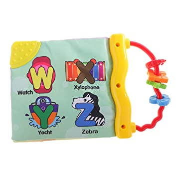 Baby Toys Cloth Books Intelligence Development Tools Infant Child Bed Cognize