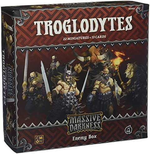 Massive Darkness - Enemy Box: Troglodytes - ENGLISH: Amazon.es: Juguetes y juegos
