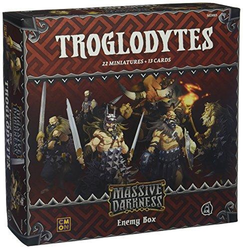 CMON Massive Darkness: Enemy Box: Troglodytes Board Games