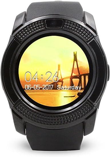 Deporte Ronda Reloj Inteligente V8 Pantalla Completa para ...