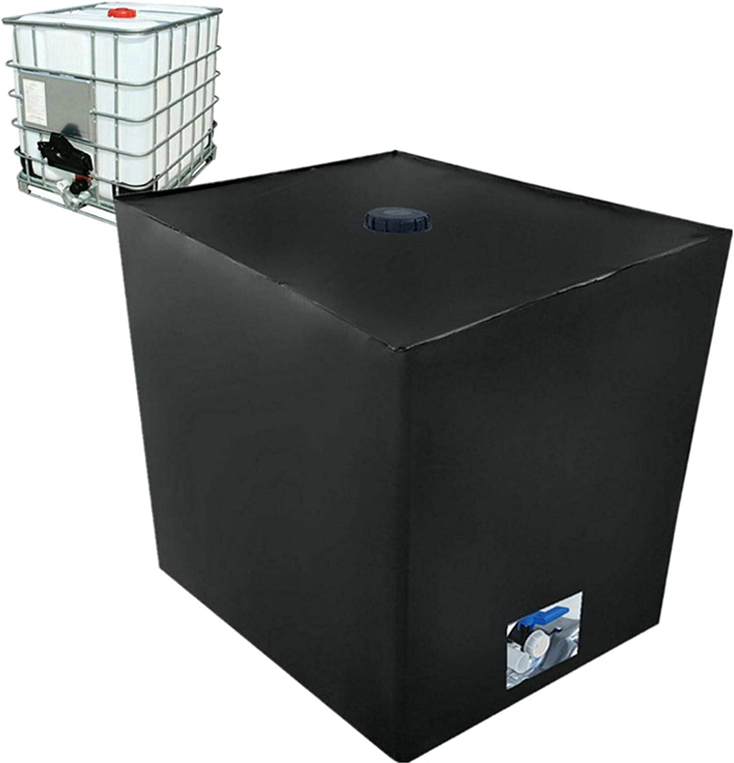 Protection Rain Water Tank Cover Case IBC Tank Cover Container Cover Protective Hood Waterproof//Dustproof//Anti-UV for Rain Water Tank 1000 L IBC Container