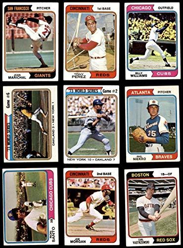 1974 Topps Baseball Near Complete Set (Baseball Set) Dean's Cards 4.5 - VG/EX+ ()
