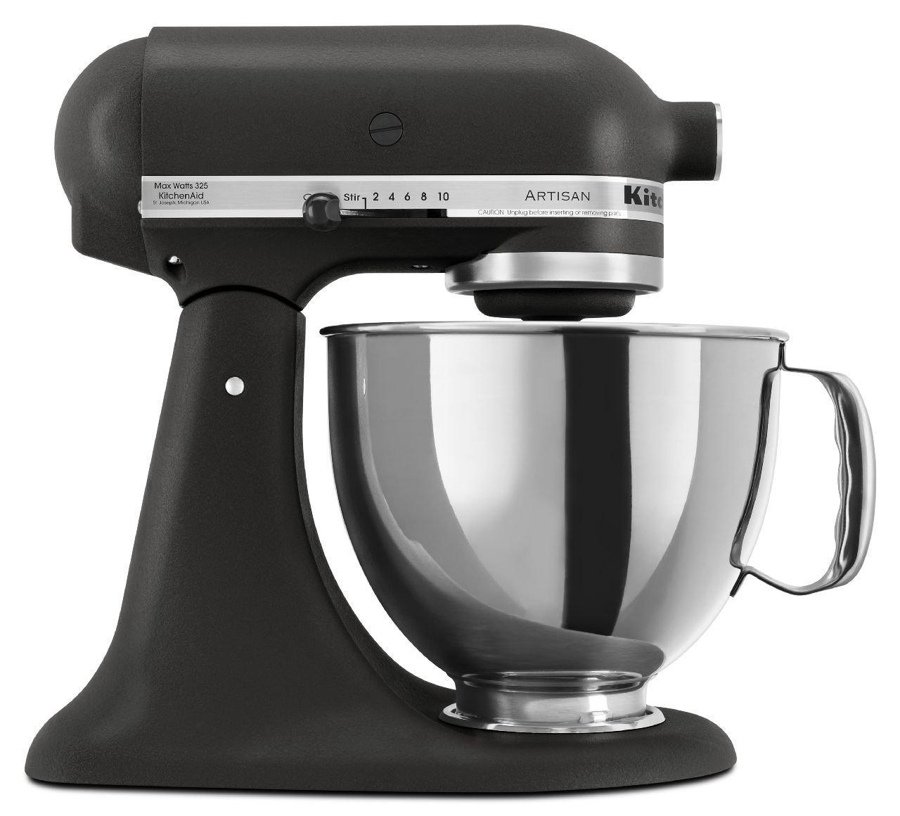 KitchenAid KSM150PSBM 5 qt. Artisan Series Stand Mixer - Black Matte by KitchenAid