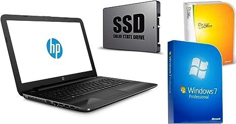 Portátil HP 255 G5 – 128 GB SSD + 1000 GB – 8 GB RAM – Windows 7 ...