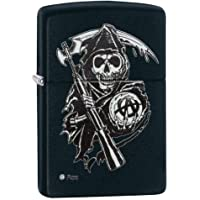 Zippo Sons of Anarchy Reaper resistente al viento bolsillo mechero
