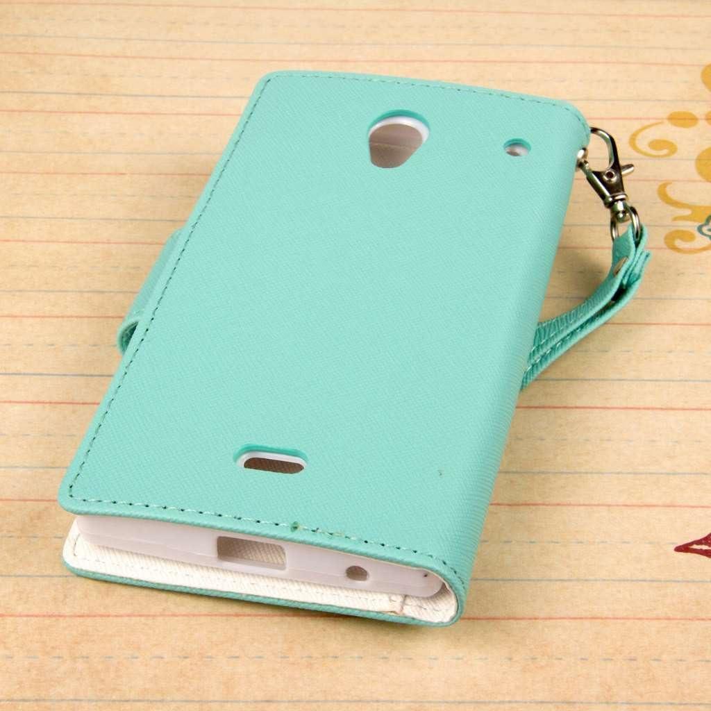 Empire FLEX FLIP, Sharp Aquos Crystal 306SH funda para teléfono móvil Libro Verde: Amazon.es: Electrónica