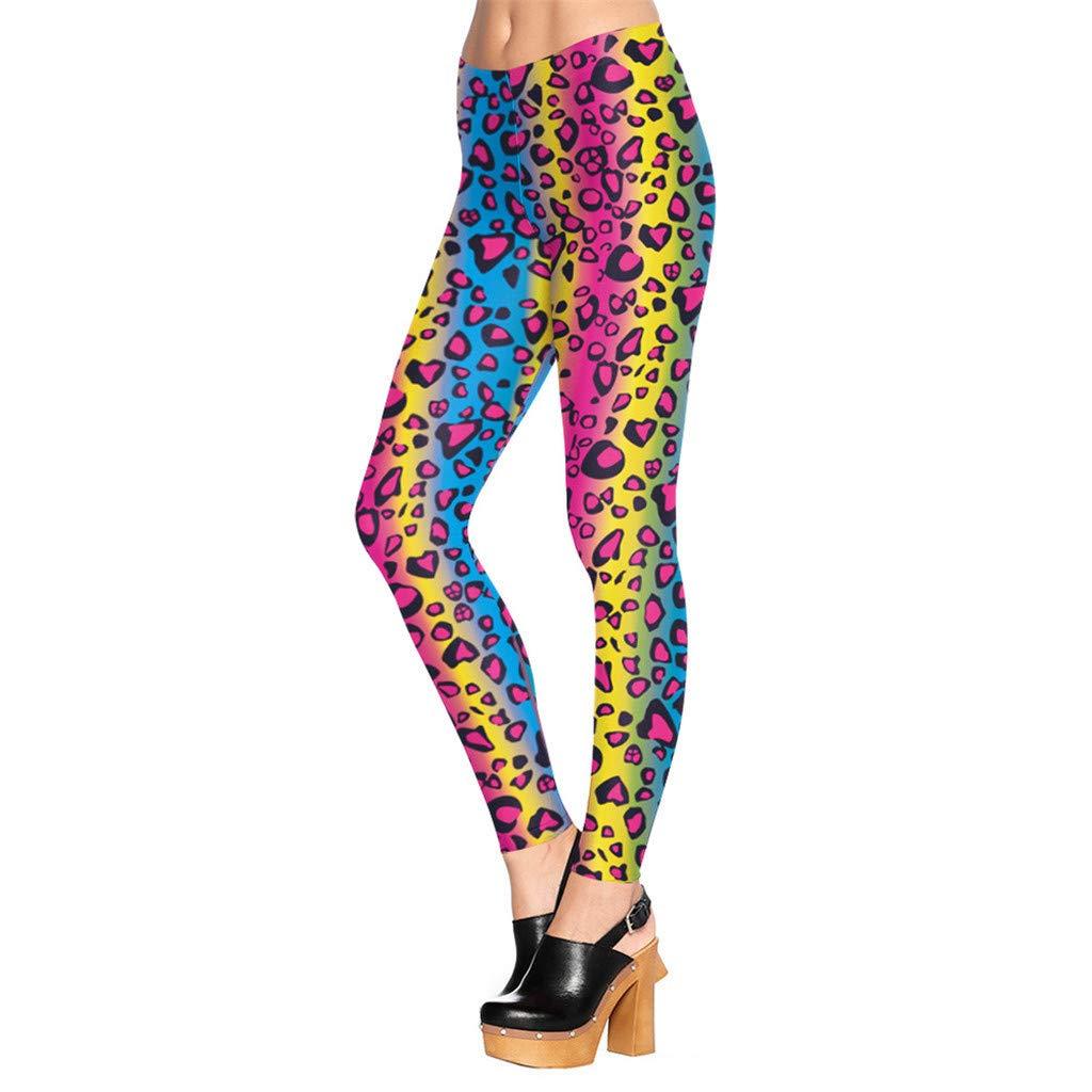 Xavigio_Women Leggings Womens High Waist Print Leggings 6 Way Stretch Tummy Control Workout Running Yoga Pants