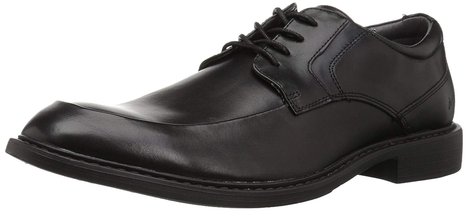 Marc New York Men's Lewis Oxford, Black, 8 M US