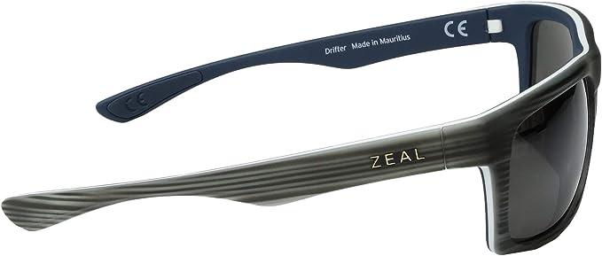 Amazon.com: Zeal Drifter – Gafas de sol polarizadas, Gris ...