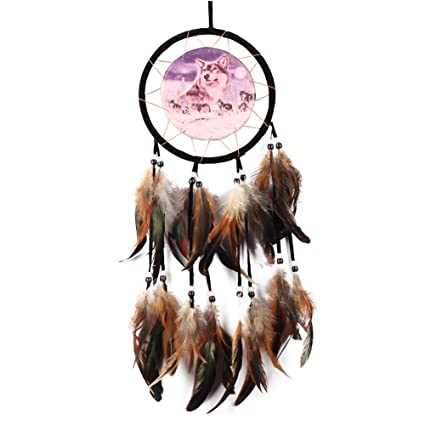 Atrapasueños Adorab Dreamcatcher Net Catcher Dream Colgante lJ1KFc