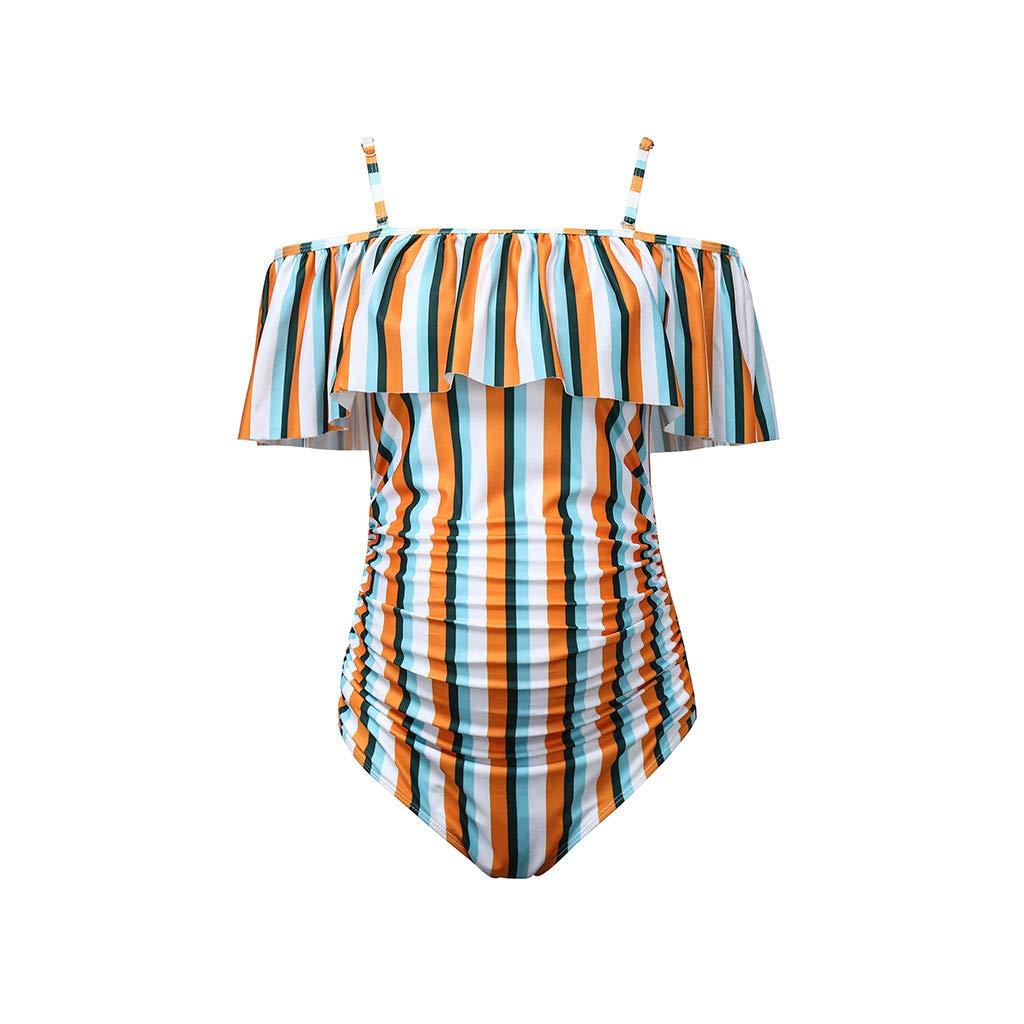Tuta da Bagno per Donna Costumi da Bagno Costumi da Bagno per Donna Mare Swimsuit Swimwear Costumi Balneari Taglie Forti Spiaggia-Brasiliana Bikini Donna Theshy Costume Premaman
