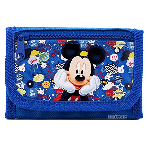 06. Disney Mickey Mouse Authentic Licensed Trifold Wallet