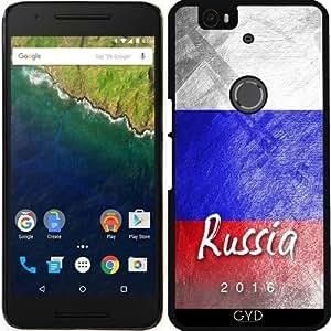 Funda para Google Nexus 6P (Huawei) - Bandera De Rusia by Julien Kaltnecker