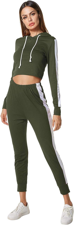 Women Bandage 2 Piece Sweatsuit Outfits Long Sleeve Bandage Sweatshirt Bodycon Long Pants Sweatpants Tracksuit Jogger Set