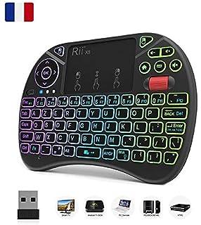 Zenoplige Mini Teclado inalámbrico Tastiera 2,4 GHz Diseño Español(con Ñ) Ratón Touch Ergonómico para Smart Android TV Box, Mini PC, HTPC, Consola, Ordenador, Color Negro: Amazon.es: Electrónica