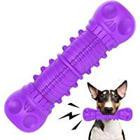 FRLEDM Dog Squeaky Toys- Toughest Natural Rubber-Dog Chew Toys for Aggressive Chewers, Almost Indestructible Tough…