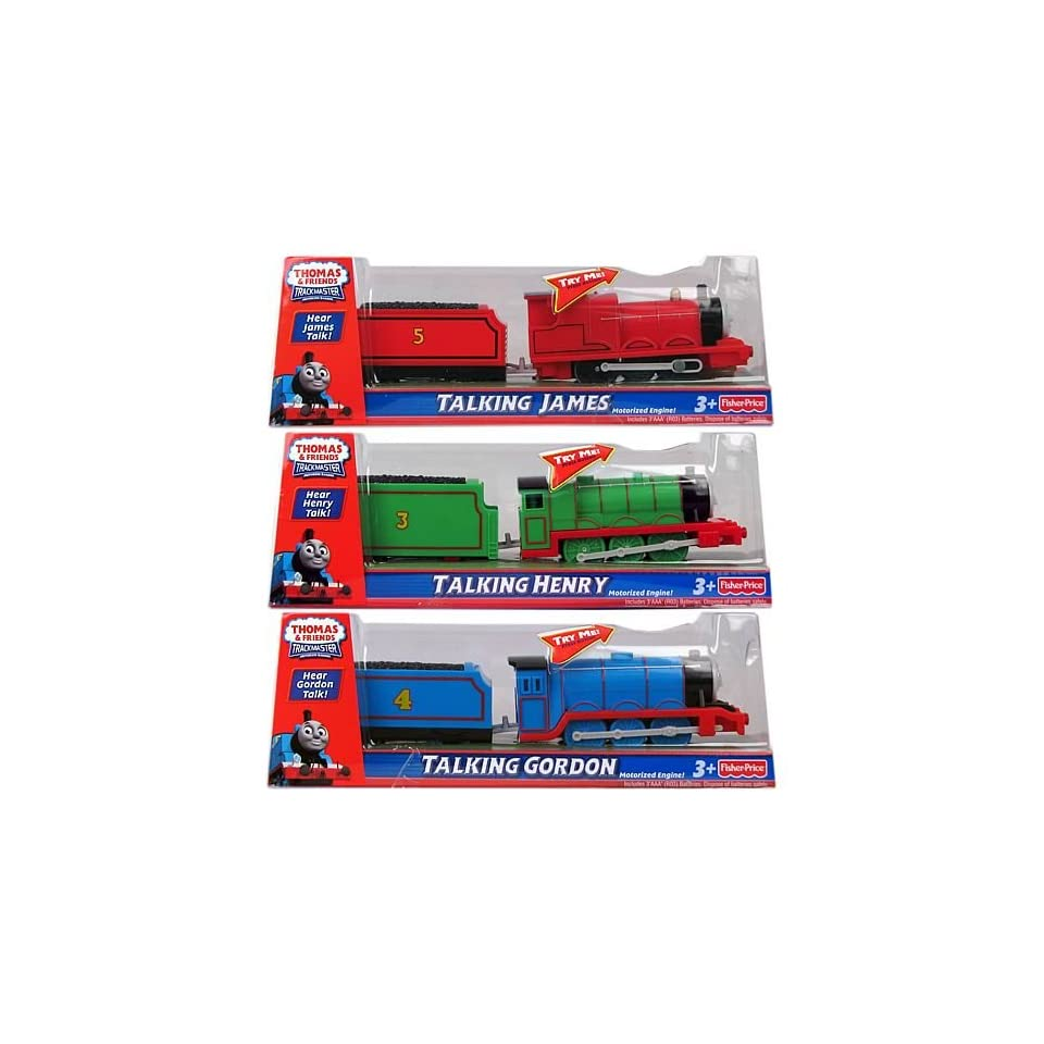 Thomas and Friends Talking Motorized Engines Case