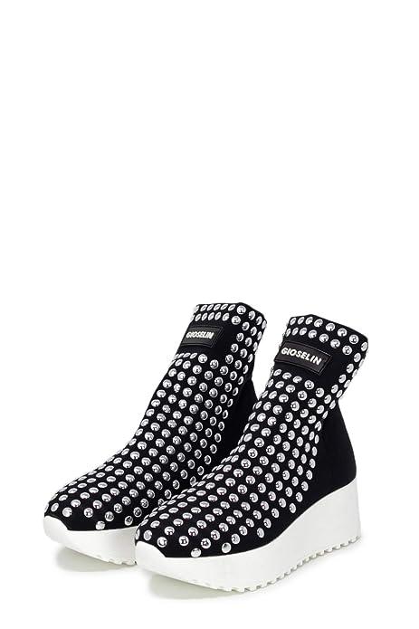 Gioselin Sneakers Donna Light Flat Studs  Amazon.it  Scarpe e borse 33ac39ea01e