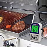 ThermoPro TP10 Digital Kitchen Cooking Food Meat Thermometer with Timer for Oven Grill Smoker BBQ