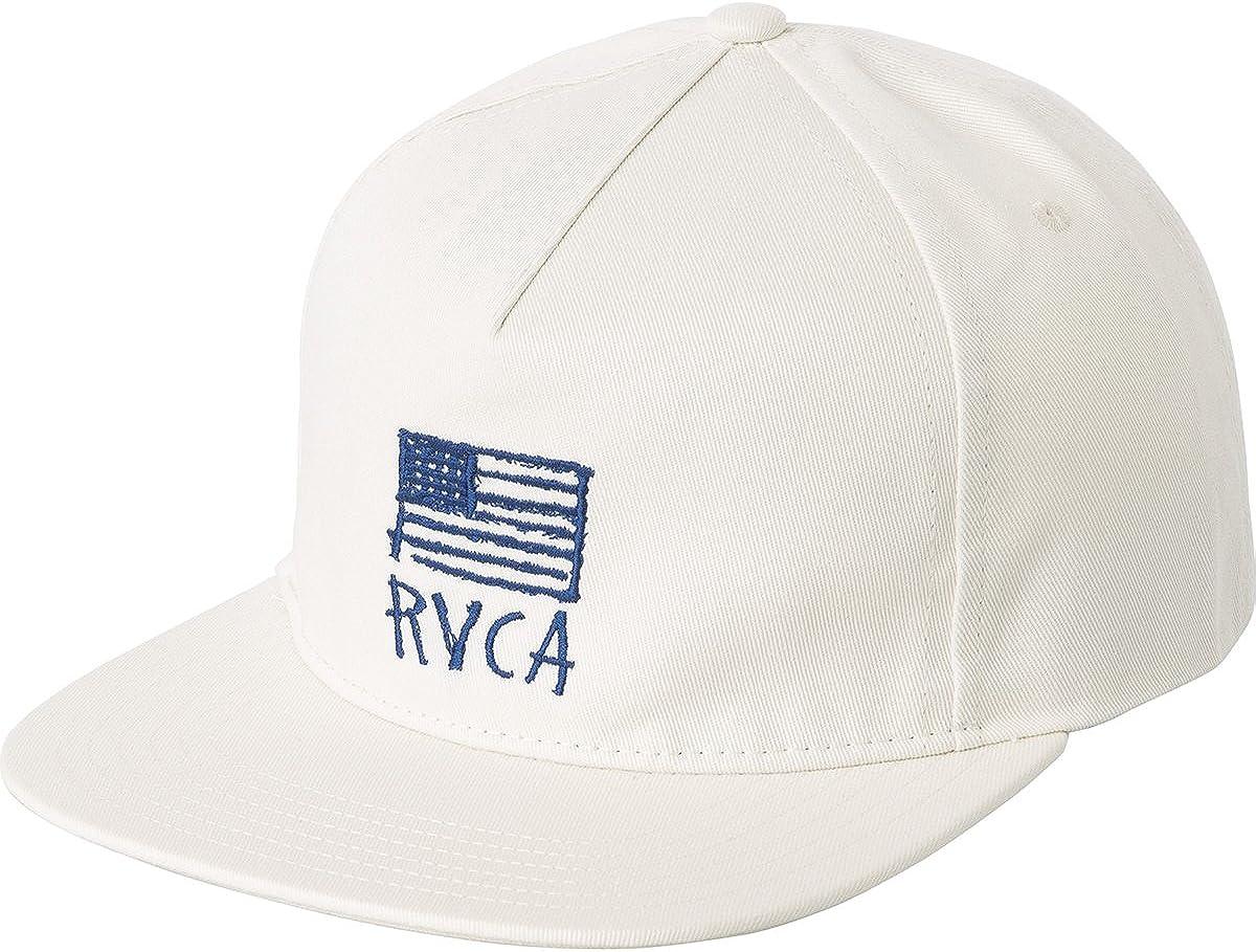 RVCA RTS Unstructured Cap Baseballcap Basecap Snapback Flat Brim