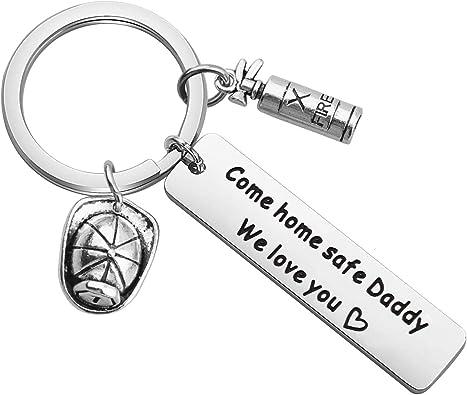 Firefighting Keychain Firefighter Keychain Firefighter Gift Makes Perfect Gift for Firefighter or Firefighter Wife