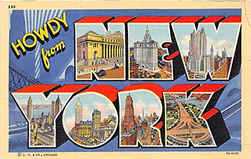 Greetings from new york postcard at amazons entertainment greetings from new york postcard m4hsunfo
