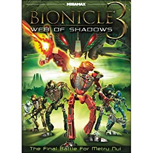 amazoncom bionicle 3 web of shadows by christopher gaze