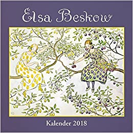 elsa beskow kalender 2018 wandkalender. Black Bedroom Furniture Sets. Home Design Ideas